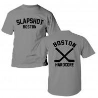 "Slapshot - ""Boston Hardcore"" T-Shirt grey front/backprint"