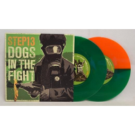 """V/A - Step13/Dogs in the fight-split 7"""" EP lim. 250"""
