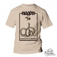 "Nagön - ""Repulsive & Deadly"" T-Shirt nature"