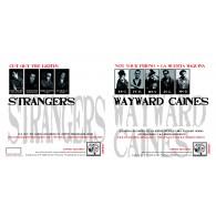 V/A Wayward Caines/The Strangers(US) - Split 7'EP Black