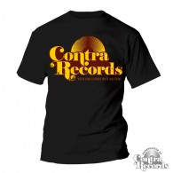 "Contra Records - ""Vinylcollectors do it better"" T-Shirt Black"