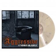 "Aggressive - ""Unbreakable"" - 12""GF-LP lim.100 white black marbled"