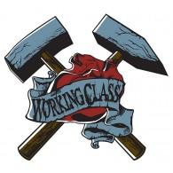 Working Class - Hammer - Sticker