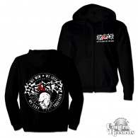 "Starts - ""20Years of Chaos"" Zip Hooded Jacket black"