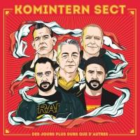 """Komintern Sect - """"Des Jours Plus Durs Que D'Autres"""" - 12""""LP lim.500 red Contra Version (PRE ORDER)"""