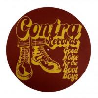 "Contra Records - Bootboys - 12"" Slipmat"