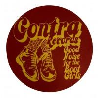 "Contra Records - Bootgirls - 12"" Slipmat"