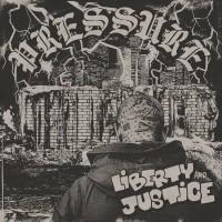 """Liberty & Justice - """"Pressure"""" - 12""""LP lim. 300 black"""