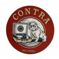 "Contra Records - Vinylplayer - 12"" Slipmat"