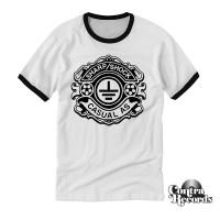 """Sharp Shock - """"Casual AS"""" - Ringer T-Shirt white"""