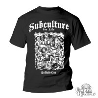"""Subculture for Life - """"Worldwide Crew"""" T-Shirt black"""