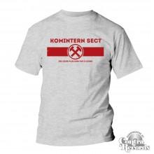 Komintern Sect - Hammer - T-Shirt grey