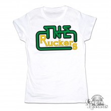 The Ruckers - Old Label Rip off Style white - Girl Shirt