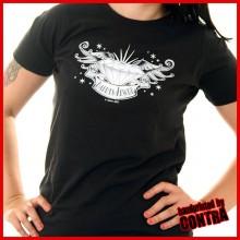 Daddys Jewel black/white - Girl Shirt