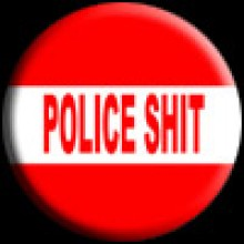 Button - Police Shit (25mm)