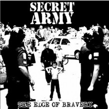 Secret Army - The edge of bravery CD