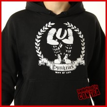 Punkrock - way of life - Hoody-XXL (Last size!!)
