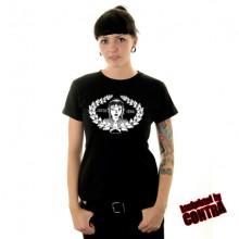 Skingirl mit Kranz - Girl Shirt-XS (last size!!)
