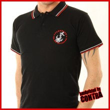 Volxsturm - anchor black embroidery - Polo -S (Last size!!)