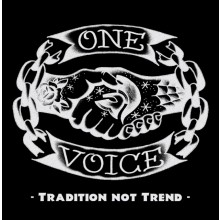 One Voice - Tradition not Trend CD