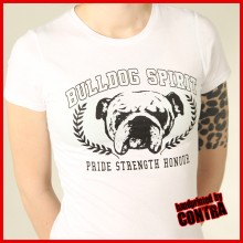 Bulldog Spirit Kranz - Girl Shirt
