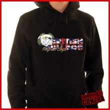 Bulldog - british style - Hoody (last sizes!!)
