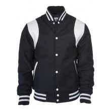 Kings League-black/white-College Jacket Shoulder Stripes (last size)