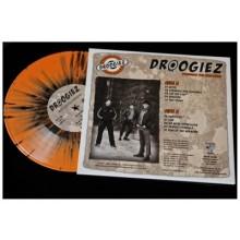 """Droogiez - Struggle for Existence 10""""LP lim.100 orange/black splatter"""