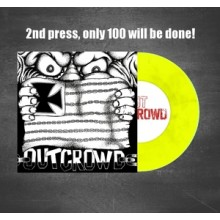 Out Crowd - same - 7'EP (yellow wax 2nd press)