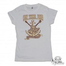 On the Job - Rock'n'Oi! - Girl Shirt grey
