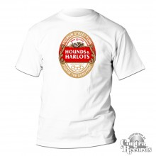 Hounds and Harlots - Premium Streetpunk - Shirt white (last sizes!)
