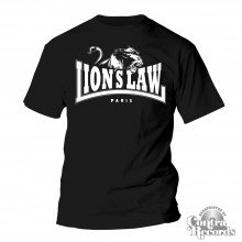 Lion's Law - LION - T-Shirt - black