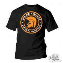 BOOZE & GLORY - Trojan - T-Shirt - black