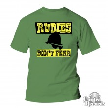 Rudies Don´t Fear - T-Shirt green