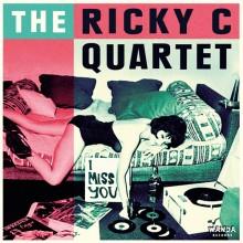 "Ricky C Quartet, The - I Miss You 7""EP - lim.200 black"