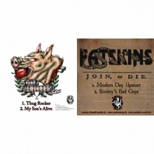 V/A Split- Fatskins/ The Butchers - 7`EP