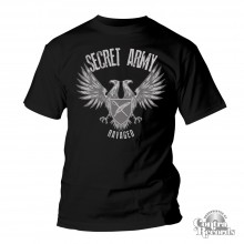 SECRET ARMY -  Ravaged - T-Shirt black