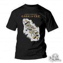 LENNY LASHLEY'S GANG OF ONE - T-Shirt - black (Last Sizes!)