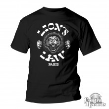 Lion's Law - T- Shirt - black Lion new design-S (last size!!)