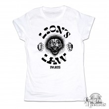 Lion's Law - Girl Shirt - white Lion new design (last sizes!!)