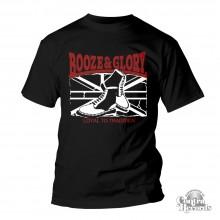 BOOZE & GLORY - Boots - T-Shirt - black-S (Last size!)