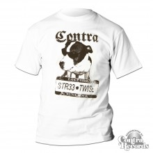 Contra - Streetwise - T-Shirt white-S (last size)