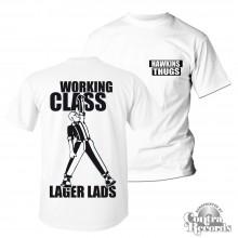 Hawkins Thugs - T-Shirt - front/backprint