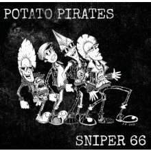 "V/A Sniper 66/Potato Pirates Split 7"" EP+Download Yellow"