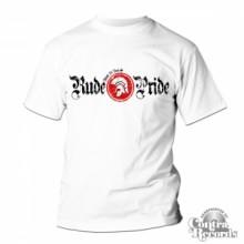Rude Pride - Classic - T-Shirt - White