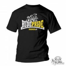 Rude Pride - Trojan - T-Shirt - Black