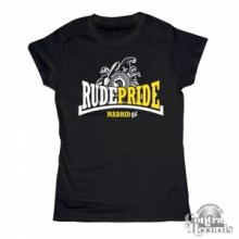 Rude Pride - Trojan - Girl Shirt - Black