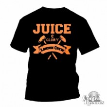 Juice&Glory London Crew-T-Shirt Black lim. Edt. (leftover)