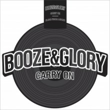 BOOZE & GLORY-Carry On-Shaped Vinyl-LP-black (excl. Contra Edt.)