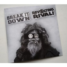 "V/A Revolting Rival/Break it Down -Split 7""EP"